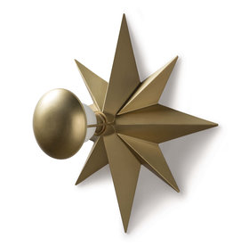 Regina Andrew Design Hudson Sconce Natural Brass