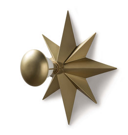 Regina Andrew Design Hudson Sconce Natural Brass