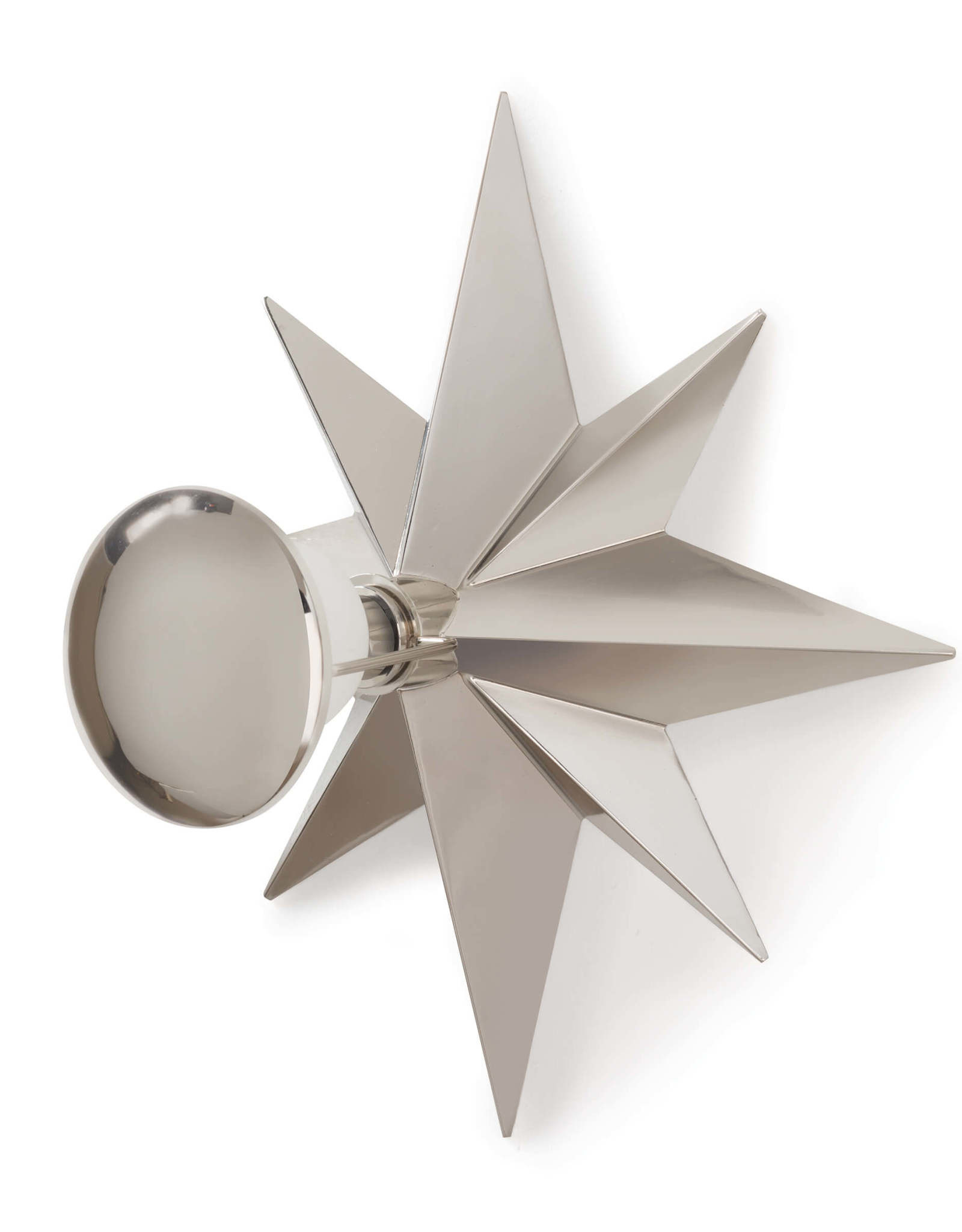 Regina Andrew Design Hudson Sconce Polished Nickel