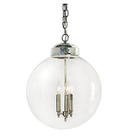 Regina Andrew Design Globe Pendant (Polished Nickel)