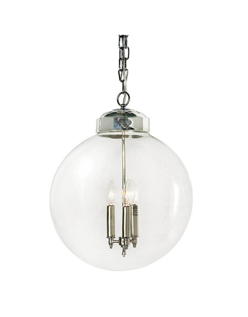 Regina Andrew Design Globe Pendant (Polished Nickel)