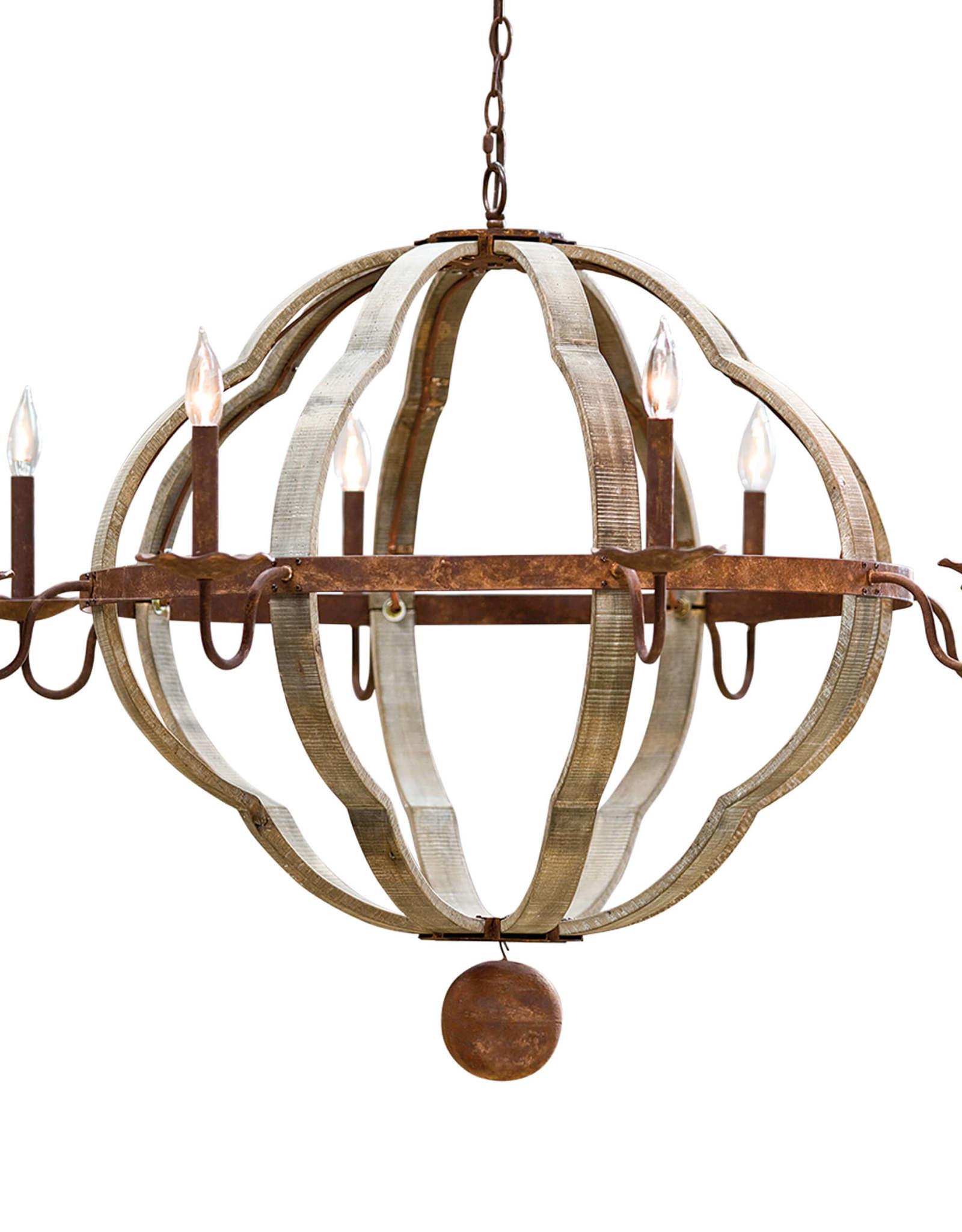 Regina Andrew Design Wooden Quatrefoil