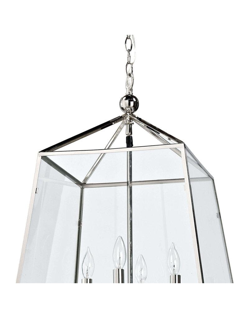 Regina Andrew Design Cachet Lantern (Polished Nickel)