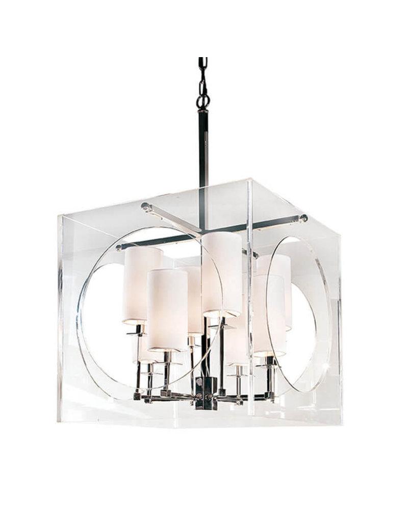 Regina Andrew Design Acrylic Cube Chandelier