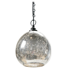 Regina Andrew Design Glass Float Pendant (Antique Mercury)