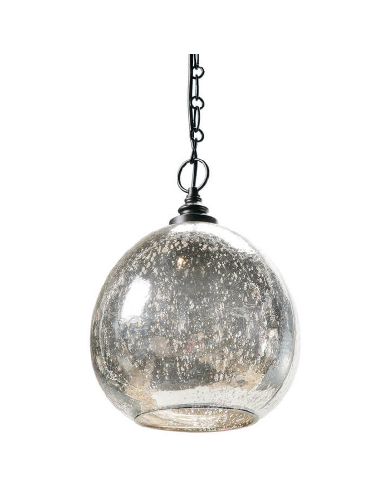 Regina Andrew Design Glass Float Pendant (Antique Mercury)