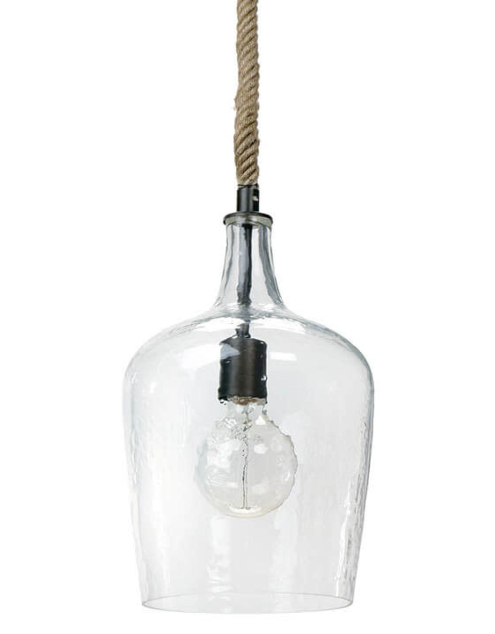 Regina Andrew Design Hammered Glass Pendant