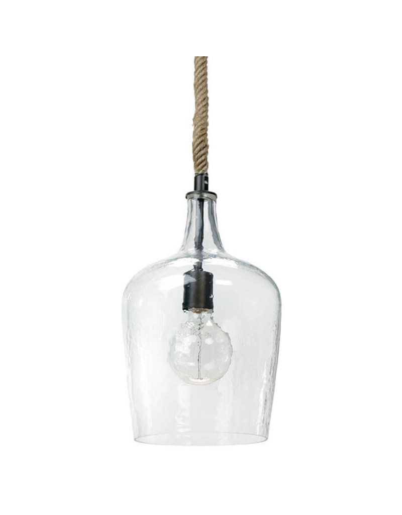 Regina Andrew Design Hammered Glass Pendant