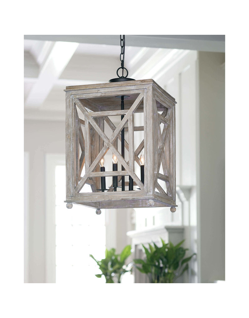 Regina Andrew Design Wood Lattice Lantern