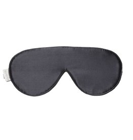 Elizabeth W Sleep Mask, Slate Silk