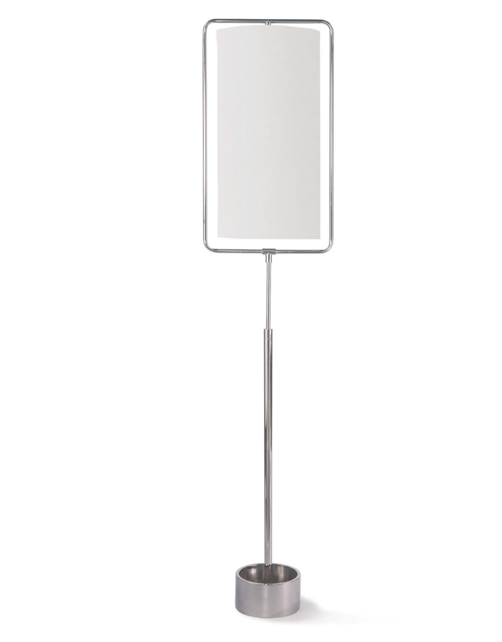 Regina Andrew Design Geo Rectangle Floor Lamp (Polished Nickel)