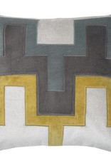 Fiona Pillow - Yellow 22x22