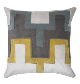 Piper Collection Fiona Pillow - Yellow 22x22