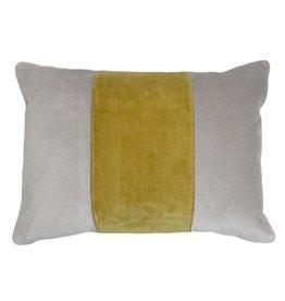 Cooper Pillow - Yellow/Grey 14x20