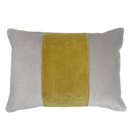 Piper Collection Cooper Pillow - Yellow/Grey 14x20