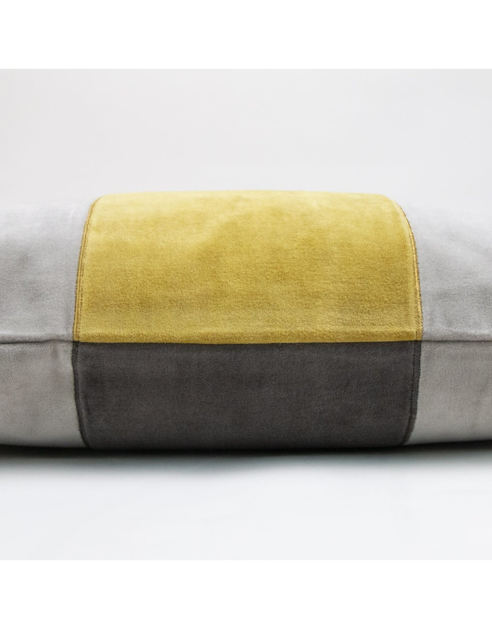 Cooper Pillow - Yellow/Grey 14x20
