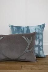 Blitzen Pillow - Grey/Blue 16x24