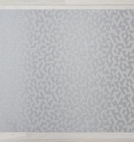 Chilewich Prism Floormat 23X36, SILVER