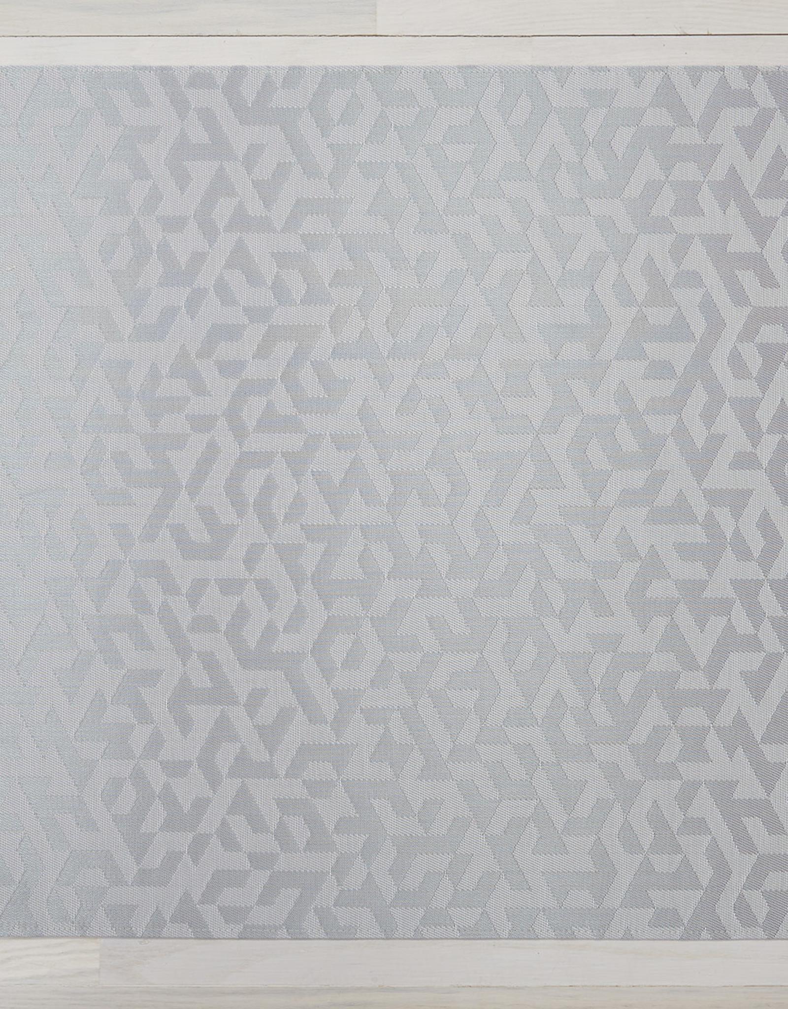 Chilewich Prism Floormat 46X72, SILVER