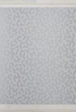 Chilewich Prism Floormat 72 x 106, SILVER