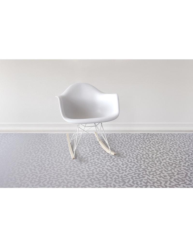 Chilewich Prism Floormat 35X48, SILVER