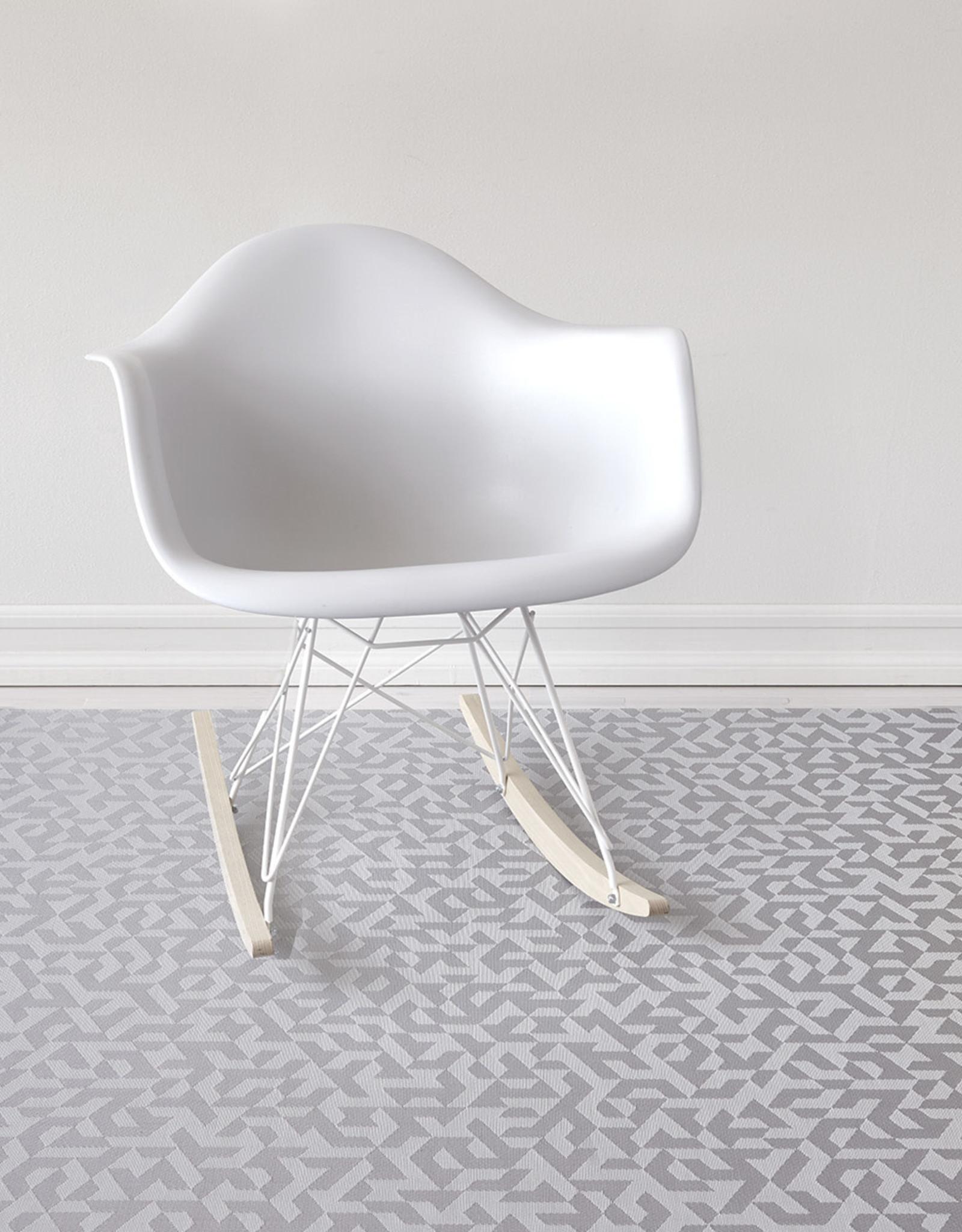 Chilewich Prism Floormat 30 x 106, SILVER