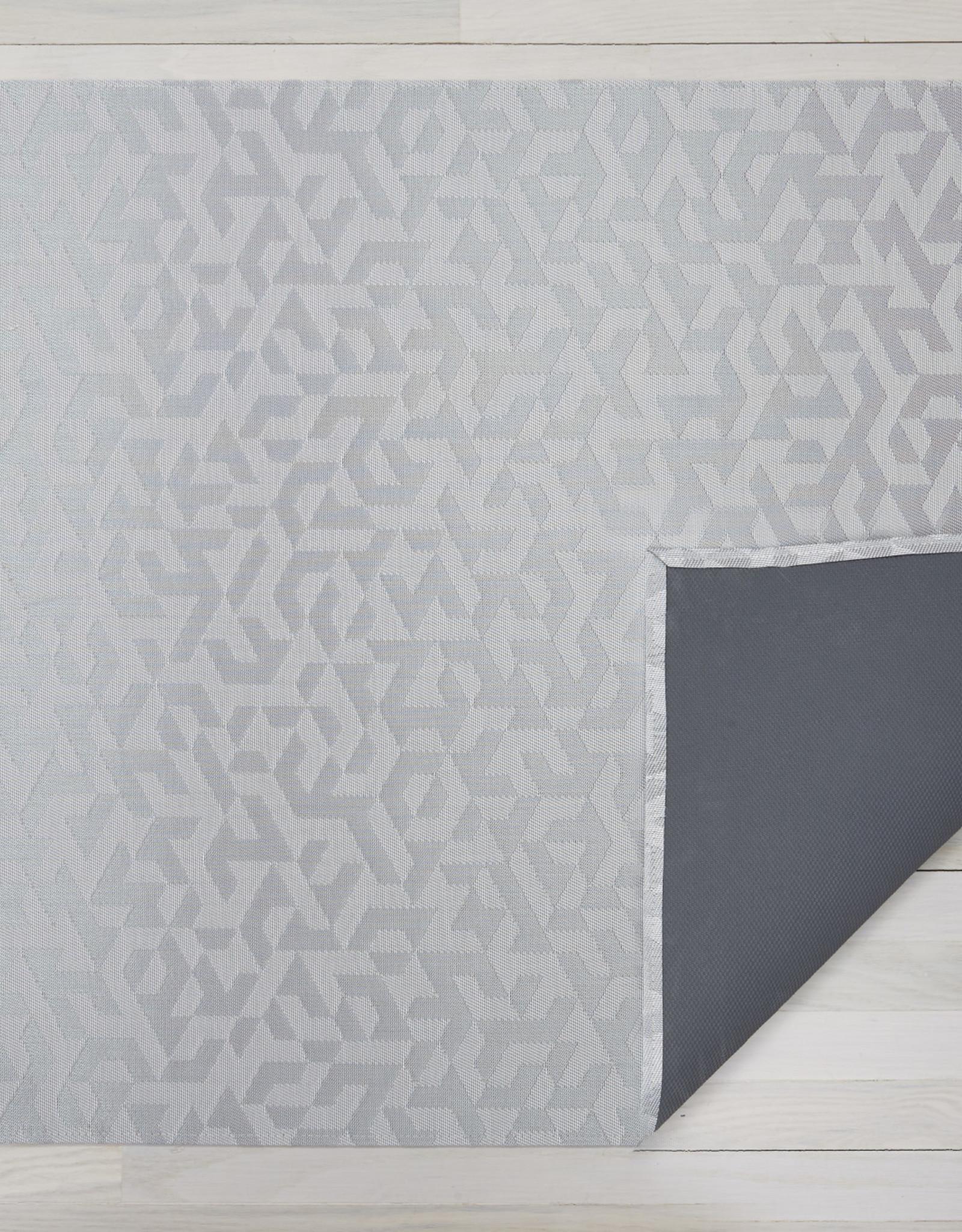 Chilewich Prism Floormat 72X106, SILVER