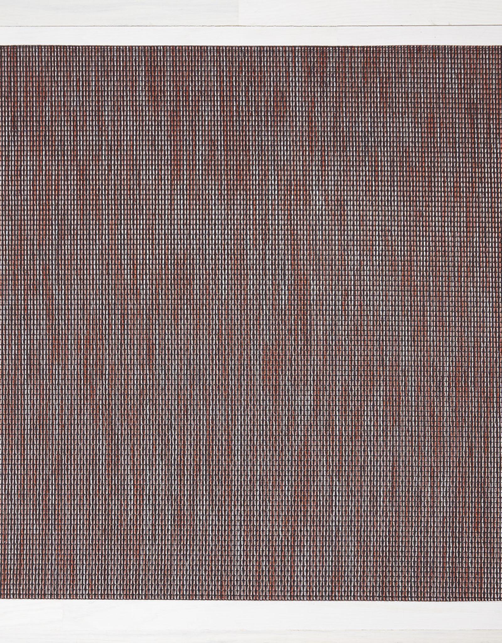 Chilewich Wabi Sabi Floormat 26 x 72, SIENNA