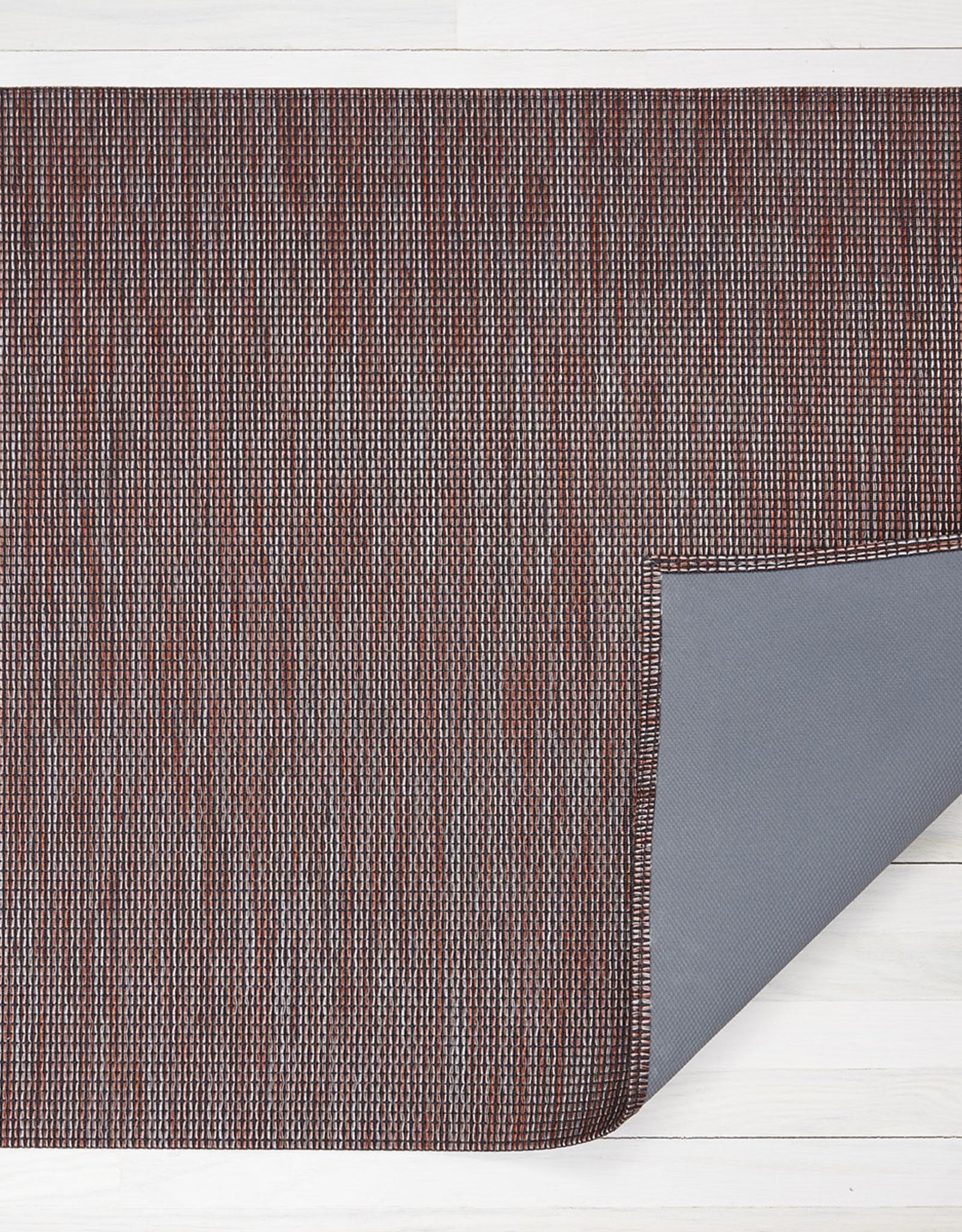 Chilewich Wabi Sabi Floormat 26X72, SIENNA