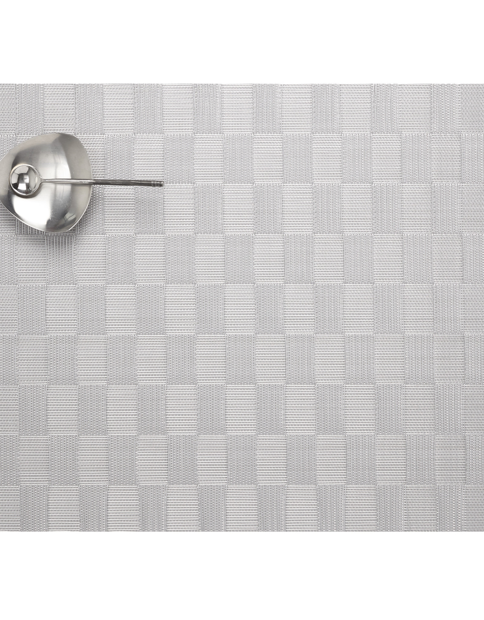 Chilewich Domino Tablemat 14x19, SILVER