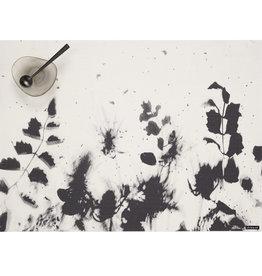 Chilewich Flora Tablemat 13.5x18.5, BLACK