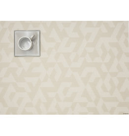 Chilewich Prism Tablemat 14x19, NATURAL