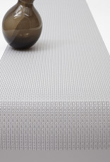 Chilewich Trellis Table Runner 14x72, SILVER