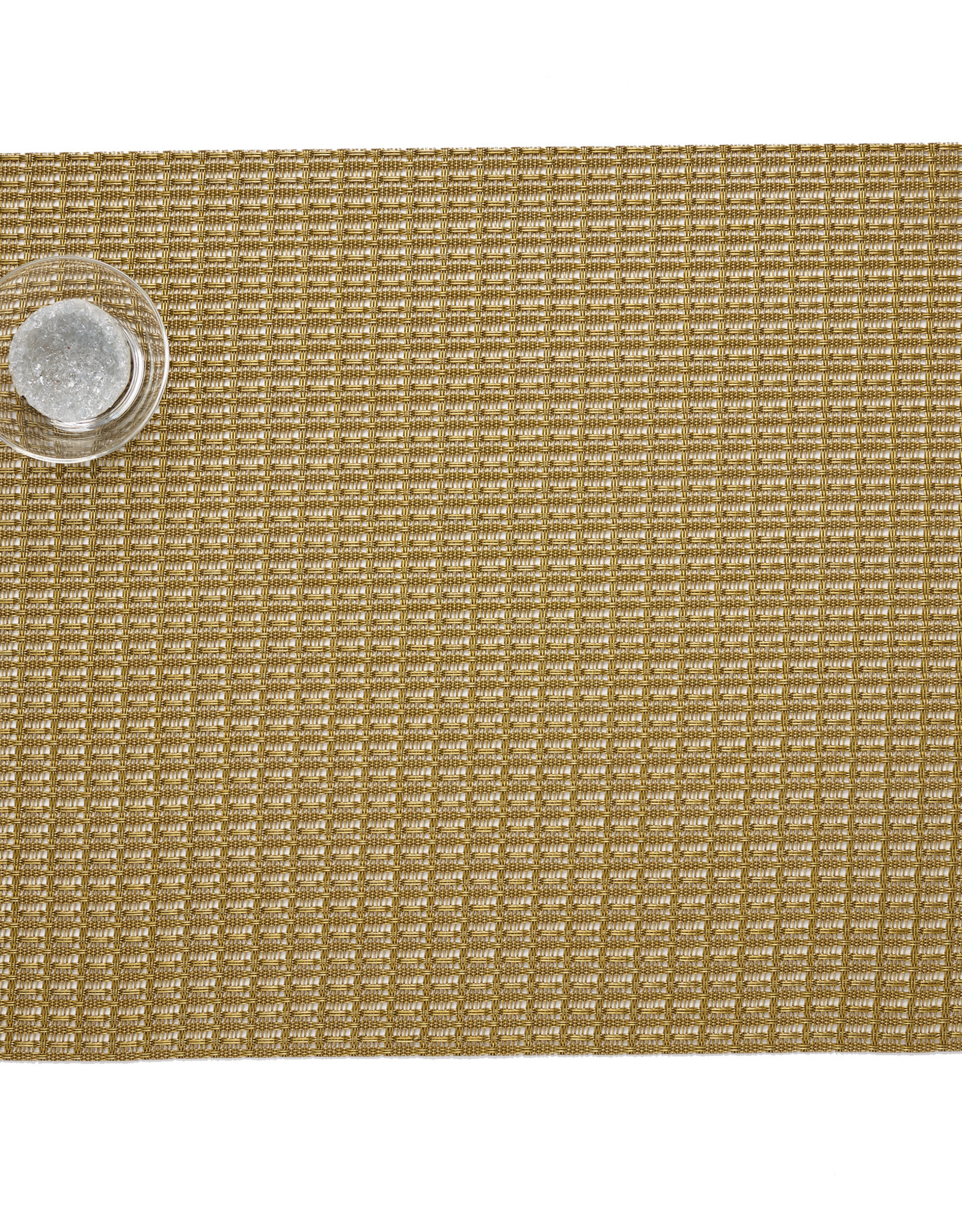 Chilewich Trellis Tablemat 14x19, GOLD