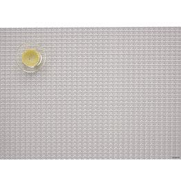 Chilewich Trellis Tablemat 14x19, SILVER