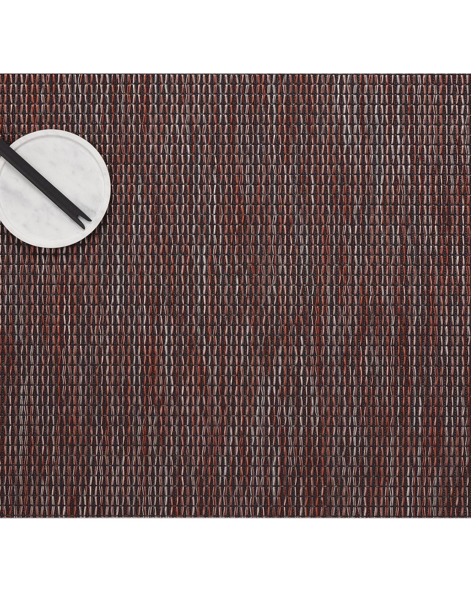 Chilewich Wabi Sabi Tablemat 14x19, SIENNA