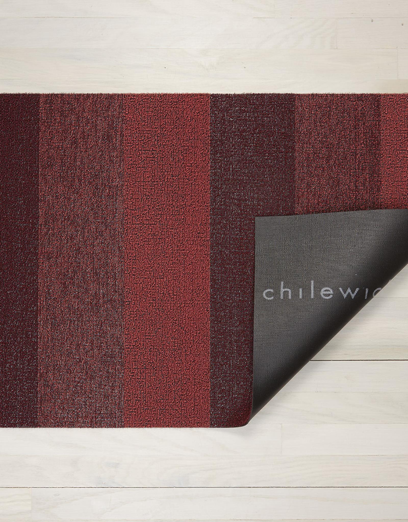 Chilewich Shag Marbled Stripe