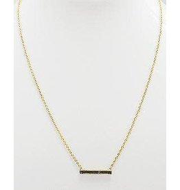 Collections by Joya Deco Diamond Bar Necklace