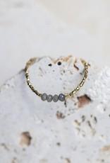 Delicate Layers Bracelet - Labardorite