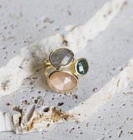 Salema Ring - Peach Bellini