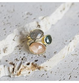 Collections by Joya Salema Ring - Peach Bellini