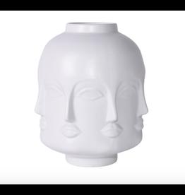 Legend of Asia Matte White Face Jar - Short