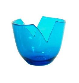 Blenko Glass Company Fruit Bowl - Turquoise