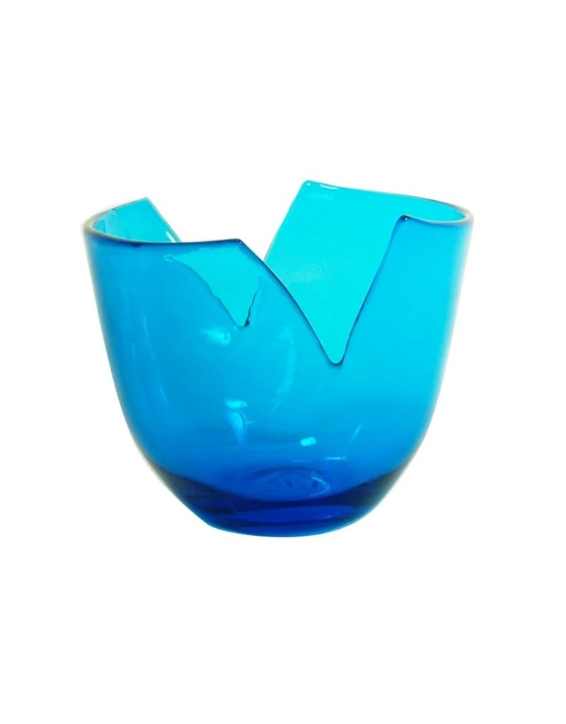 Blenko Glass Company Fruit Bowl - Turquoise