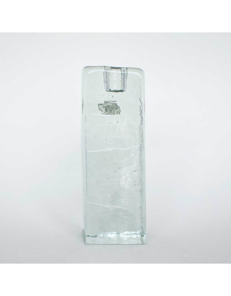 Blenko Glass Company Block Shaped Candle Holder - LG Crystal