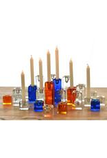 Blenko Glass Company Block Shaped Candle Holder - LG Crystal