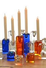 Blenko Glass Company Block Shaped Candleholder - SM Crystal