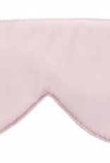 Elizabeth W Sleep Mask, Pink Silk