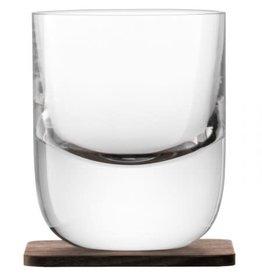 LSA International Renfrew Whiskey Tumbler w/Coaster Set