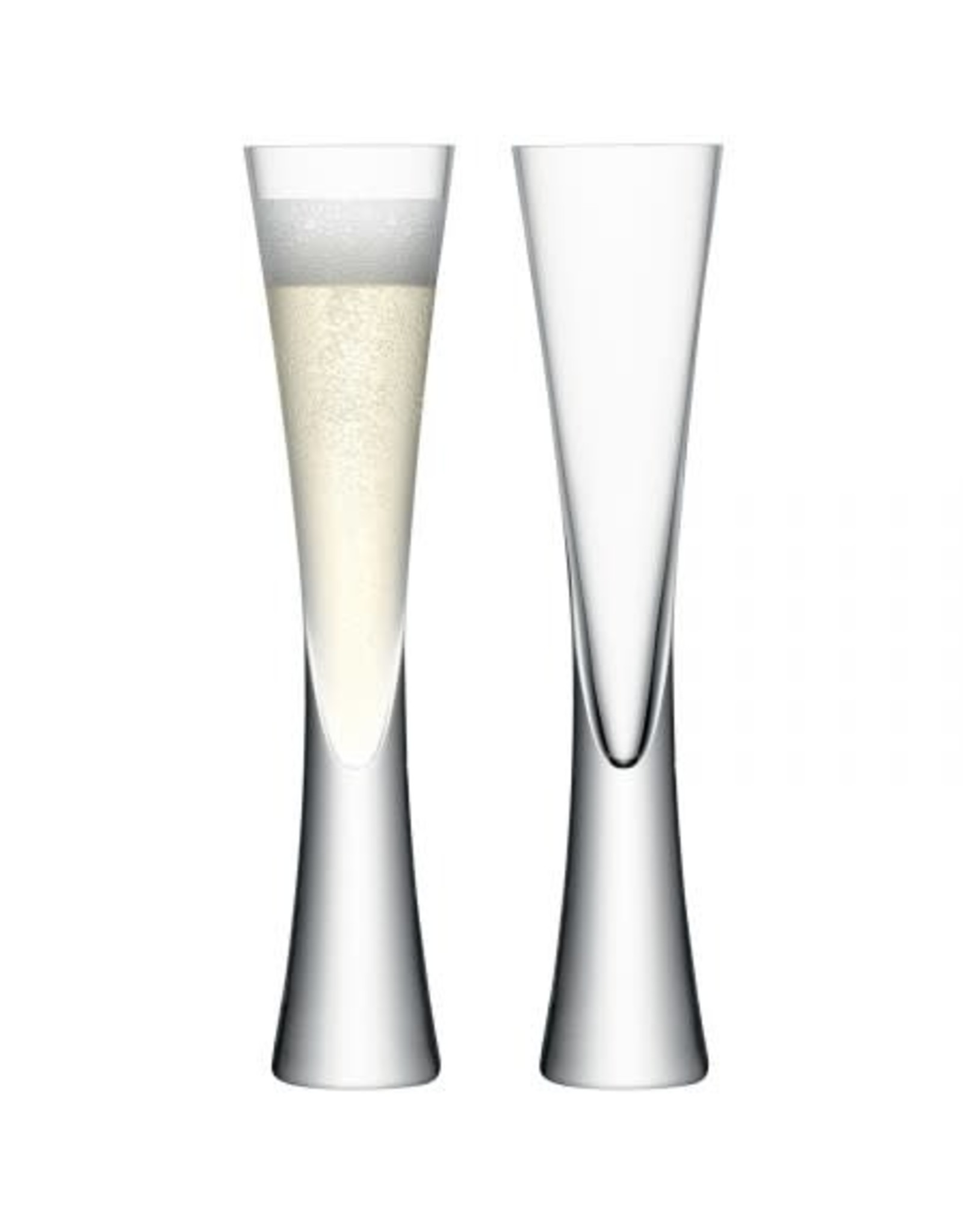 LSA International Moya Champagne Flute, Set of 2 Clear